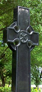 Jet Black Cross Memorial